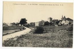 ST-VICTOR. - Avenue De St-Rome -du-Tarn. - Saint Victor