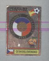 CECOSLOVACCHIA. .SCUDETTO..PANINI  ESPANA 82....FOOTBALL..FIGURINE. ..CALCIO - Edizione Italiana
