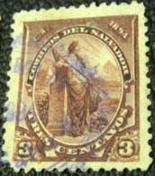 El Salvador 1894 3c - Used - El Salvador