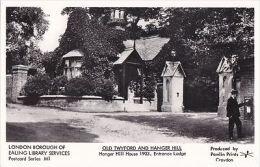 LONDON-  OLD TWYFORD @ HANGER HILL-ENTRANCE LODGE - THE HOUSE . PAMLIN M1 - London Suburbs