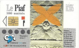 # PIAF FR.REI20 REIMS - Orange Sculpture - Tres Bon Etat  -