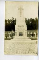 R 2013 06 16 Carte Photo Cimetière Militaire Voir Scan 2 - Oorlogsbegraafplaatsen