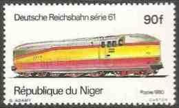 Niger 1980 Mi 709 YT 512 ** Series 61 Steam Locomotive (1934) Germany / Dampflokomotiven - Treinen