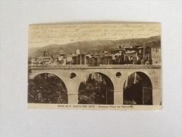 S.AGATA DEI GOTI PONTE SUL MARTORANO DEL 1934 VIAGGIATA - Benevento