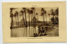 Egypte--Les  Pyramides De Gizeh  (animée) --  éd  LL--Belle Carte - Gizeh