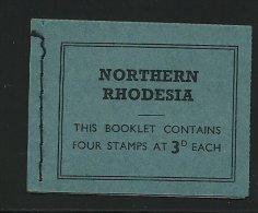 (4460) - Nord-Rhodesien 1964, QE Markenheftchen - Nordrhodesien (...-1963)