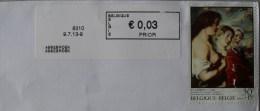 België 2013 Assebroek 8310 - Logo Bpost (briefomslag) - Vignettes D'affranchissement