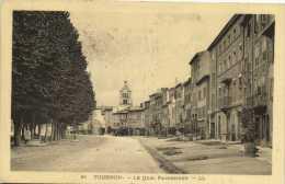 TOURNON-LE QUAI FARCONNET - Tournon