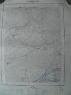 Carte Géographique - AVIGNON N°5 Tavel - St Anthelme Rochefort Du Gard - Les Angles - La Bégude De R. - Saze - 1/20.000 - Topographical Maps