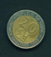 KENYA - 1998 20s Circ. - Kenya