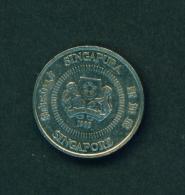 SINGAPORE - 1989 10c Circ. - Singapore