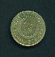 CYPRUS - 1998 5m Circ. - Cyprus