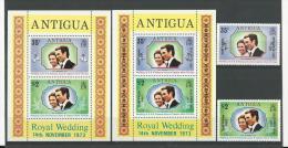 Antigua: 312/ 313 + BF 10/ 11 ** - Antigua Et Barbuda (1981-...)
