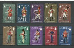 Antigua: 265/ 269 + 274/ 278 ** - Antigua Et Barbuda (1981-...)