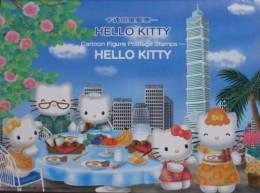 Folder 2004 Hello Kitty Stamps S/s Cartoon Sunset Oval Wharf Bird Taipei 101 Coffee Cat Unusual - Drinks