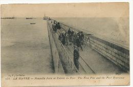 Le Havre 136 Nlle Jetée Et Entrée Du Port     ELD - Le Havre