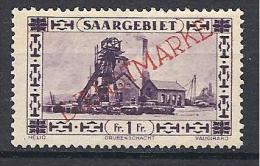 SARRE   SERVICE YVERT N� 25 / MAURY N� 20 TIRAGE DE 1927  NEUF** LUXE