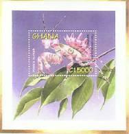 GHANA  2341  MINT NEVER HINGED SOUVENIR SHEET OF BUTTERFLIES - Butterflies