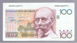 BELGICA -   100 Francs   ND  P-140 - Bélgica