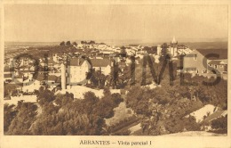 PORTUGAL - ABRANTES - VISTA PARCIAL - 40S PC. - Santarem