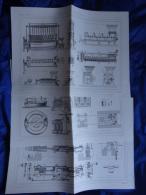 Appareils Appliqués à La Fabrication Des Charbons Artificiels Par M. DAVID (3 Documents) - Machines