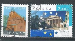 Poland. Scott # 3776-77,3842 Used. Commemoratives. 2005-06 - Used Stamps