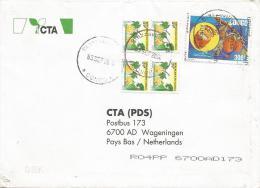 Congo 2004 Liana Landolphia Provisionary Overprint AUTORISE Cover. Extremely Rare! - Congo - Brazzaville