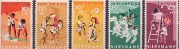 Suriname NVPH Nr 462/6 Postfris (MNH, Neuf Sans Charniere) Child Welfare, Pour Les Enfants, Kinderzegels, Children, Game - Suriname ... - 1975