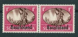 BASUTOLAND 1d MH(**) -CA - Basutoland (1933-1966)