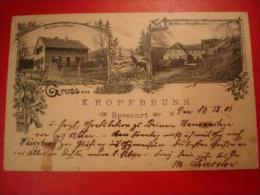AK Kropfbrunn Spessart 1901 Parkhaus Silvan Parkhaus Kropfbrunn - Ohne Zuordnung