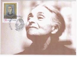 Portugal 1996 Famous Women Vieira Da Silva Painter Maximum Card Lisboa - Cartoline Maximum