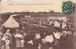 """VENDEUIL Le Biplan Farman Du Lieutenant Letheux Au Campement Du Fort (3) , """" AVION ANCIEN """" ! - ....-1914: Precursors"""