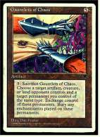 Karte Magic The Gathering  -  Artifact  - Gauntlets Of Chaos  -  Englisch - Magic The Gathering