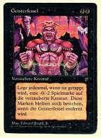 Karte Magic The Gathering  -  Verzauberte Kreatur  -  Geisterfessel  -  Deutsch - Magic The Gathering