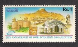 1995 Pakistan, World Tourism Organization, Lahore Fort, Heritage, 1v MNH - Vacaciones & Turismo