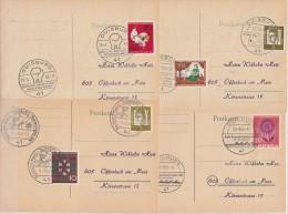 4 Karten Mit älteren SST Von Duisburg Lot 2 Heimatsammler Ansehen !!!!!!!!!!!!! - BRD