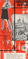 Excursions à Barcelone Petit Livre De 23 Cm Sur 11 Cm D'une Dizaine De Pages En Francais,espagnol,anglais,italien,allema - Espagne