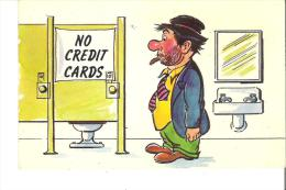 No Credit Cards - Humour