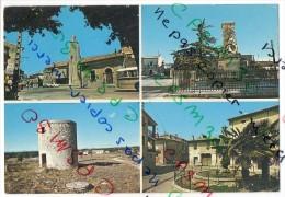 30 Gard - Cpsm - AIGUES-VIVES - Vue Multiples - Le Clocher Le Temple Place G. Doumergue Le Moulin Le Monument Aux Morts - Aigues-Vives