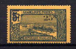 GUADELOUPE - N° 89* - POINTE A PITRE - Neufs