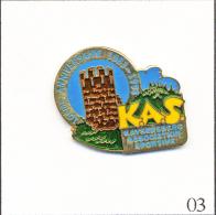 PIN´S Sport - KAS - Association Sportive De Kaysersberg (68). Estampillé Kokomo. EGF. T041-03 - Rugby