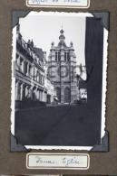 Lot De Deux Photos - Douai - Le Beffroi Et L'Eglise -  Circa 1935 - - Places