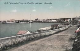 S.S. BERMUDIAN LEAVING HAMILTON HARBOUR / BERMUDA - Bermudes