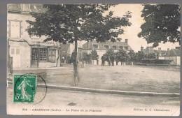 ORSENNES . La Place De La Fontaine . - France