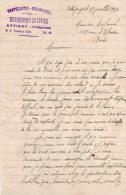 CHAPELLERIE   -  CHAUSSURES      -  HERBEMONT  - DUVIVIER  -ATTIGNY - France
