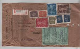 Portugal Amostra Sem Valor Air Mail With Belgian Registered Label Lisboa  To Brussels Belgian Custom Label PR263 - Briefe U. Dokumente