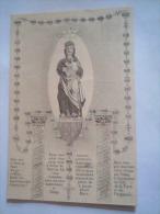 Image ND De Breuil, Au Verso ,sermon Du Curé De Commercy, 1ère Guerre Mondiale - Religion & Esotérisme
