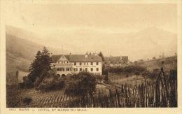 BARR - Hôtel Et Bains Du Buhl - Barr