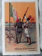 CARTOLINA COLONIALE  MILITARIA EUROPA- COPPIA NUMERATA   584 PARTECIPAZIONE GUERRA LIBICA - Regimente