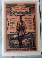 CARTOLINA COLONIALE  MILITARIA EUROPA- COPPIA NUMERATA   584  TRUPPE COLONIALI SOMALIA ITALIANA - Regimenten